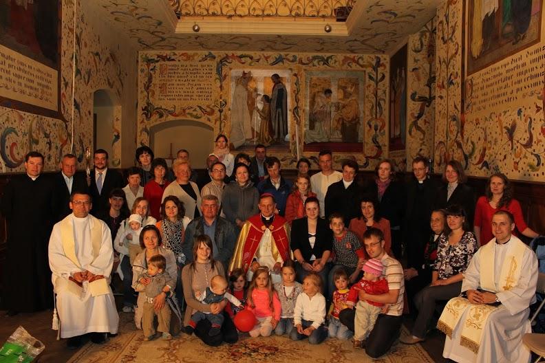 Spotkanie arcybiskupa Mieczysława Mokrzyckiego ze wspólnotami, 13.05.2013