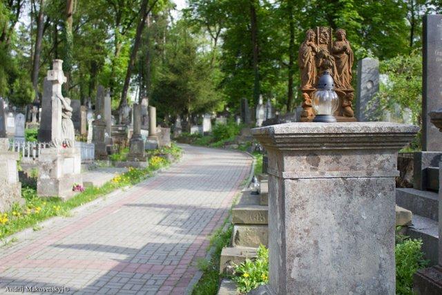 Cmentarz Łyczakowski, alejka