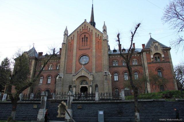 Kościół Serca Pana Jezusa i klasztor Franciszkanek, ul.Łysenka, obecnie prawoslawna cerkiew św. Jana Złotustego i seminarium