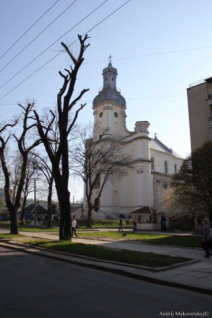 Dawny kościół sióstr sakramentek