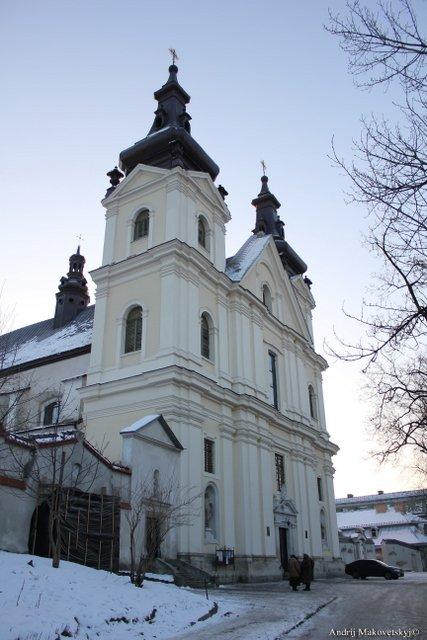 Kościół sw. Michala, klasztor karmelitów, dzis - cerkiew studytow