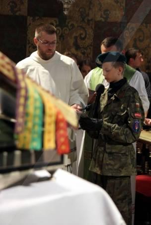 Jasna Góra, odczytanie Aktu Zawierzenia Parafii św. Jana Pawła II  i Lwowa