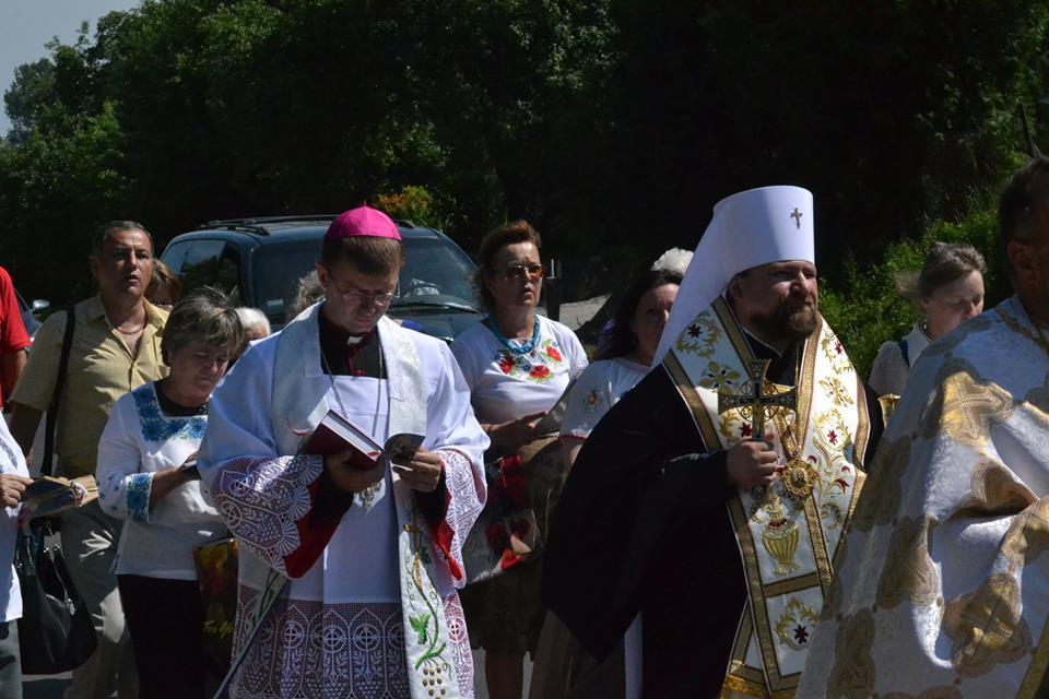 ekumeniczna procesja. Autor fotografii Paweł Kowalczuk