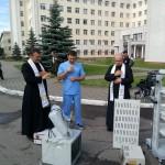 Przekazanie i błogosławieństwo sprzętu dla szpitala onkologicznego (Copy)